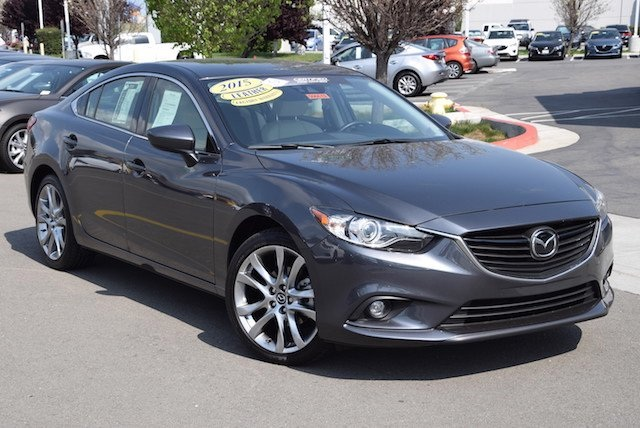 certified pre owned 2015 mazda mazda6 i grand touring 4d sedan near san ramon 506619 dublin mazda. Black Bedroom Furniture Sets. Home Design Ideas